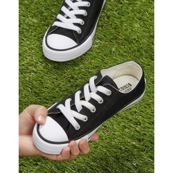 Low canvas unisex shoes