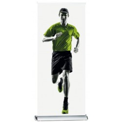 DELUXE single side roll-up banner