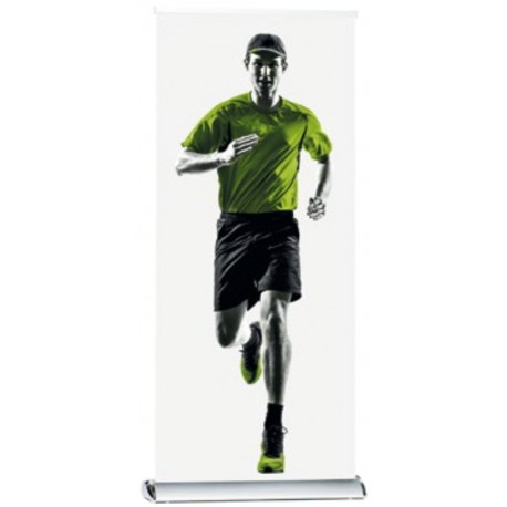 Roll-up de luxe simple face