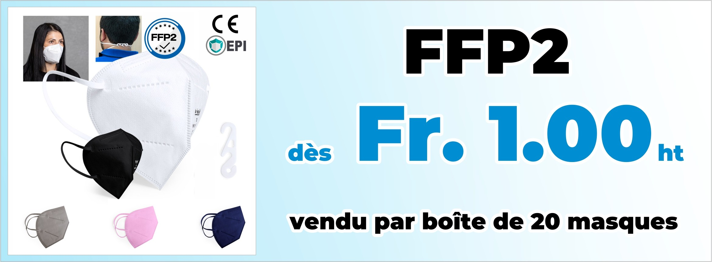 CE-certified FFP2 Mask